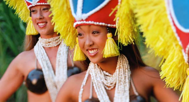Kauai Luau Performers