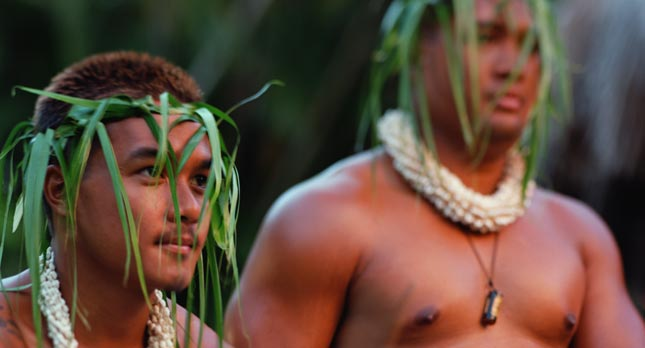 Male Hula Performers