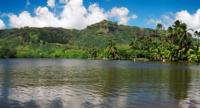 Wailua River and Sleeping Giant
